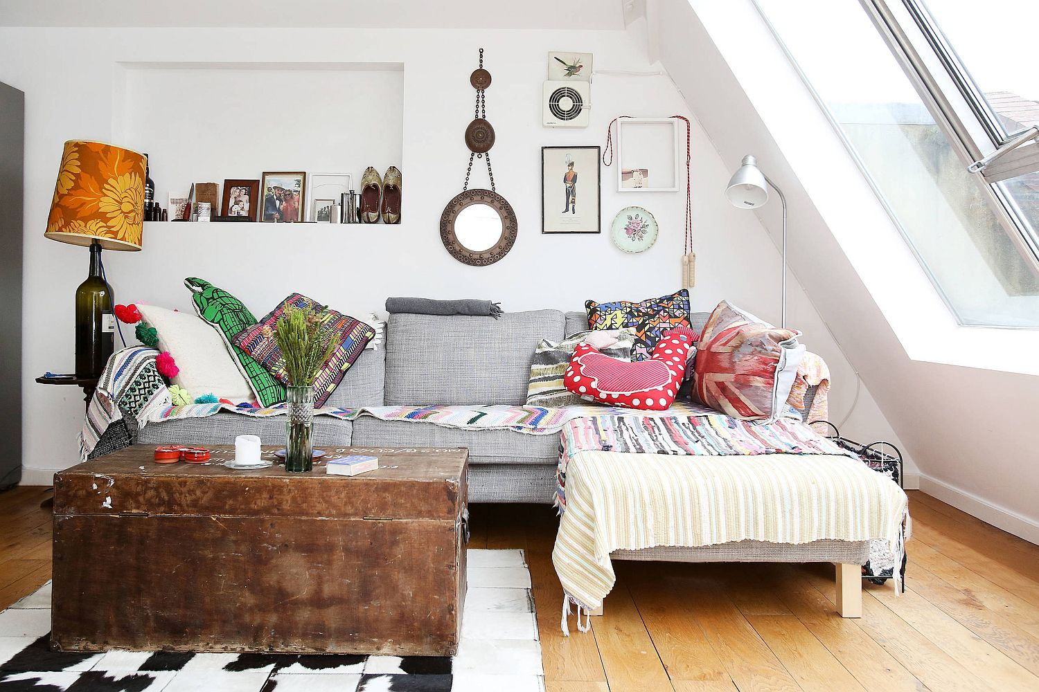 Find your personal blend of modern and boho influences to create that picture-perfect living room