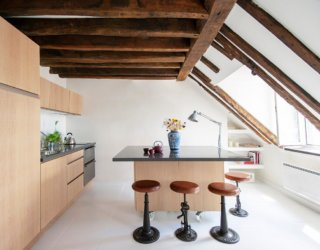Best Kitchens with Ceiling Beams: Ideas, Photos and Inspirations
