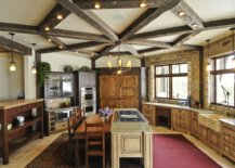 Innovative-way-of-using-wooden-beams-in-the-kitchen-along-with-lighting-24998-217x155