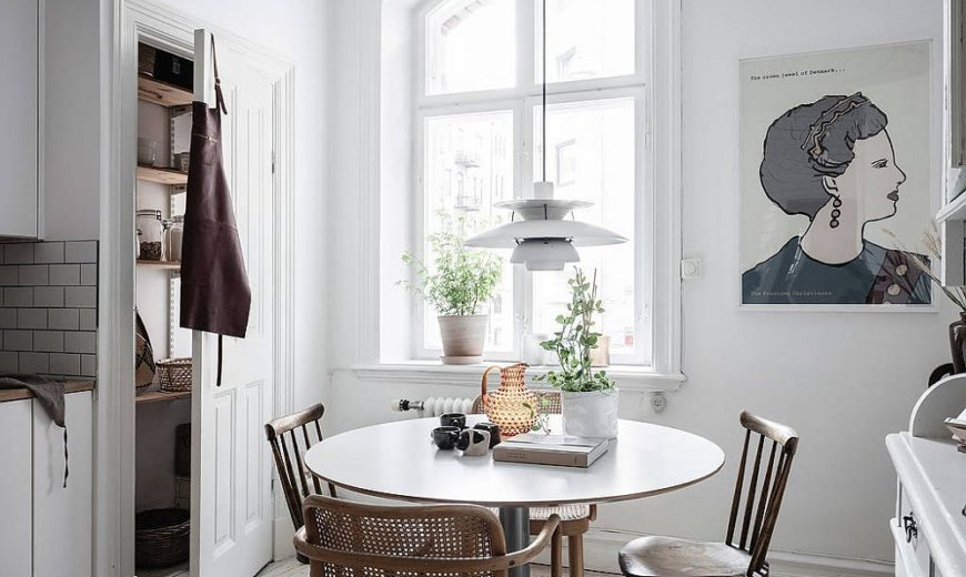 20 Small Scandinavian Dining Rooms: Dynamic Functionality with Muted Charm!