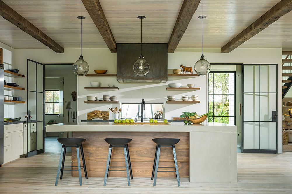 Kitchen-with-wooden-ceiling-and-ceiling-beams-feel-cozy-and-modern-46776