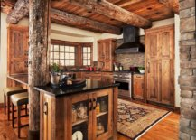 Log-style-wooden-ceiling-beams-are-perfect-for-the-rustic-and-farmhouse-style-kitchens-15510-217x155
