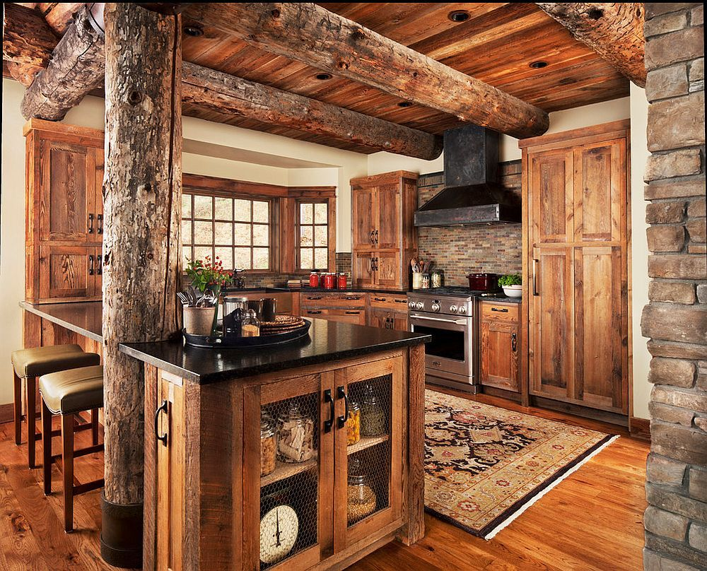 Log-style-wooden-ceiling-beams-are-perfect-for-the-rustic-and-farmhouse-style-kitchens-15510