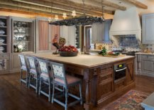 Mediterranean-style-kitchen-with-large-island-and-slim-wooden-ceiling-beams-51078-217x155