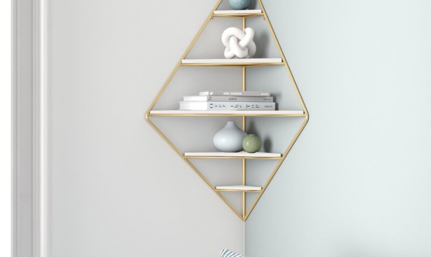 Corner Shelf Options That Blend Function and Style
