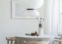 Oversized-pendant-for-the-tiny-dining-area-in-white-33441-217x155