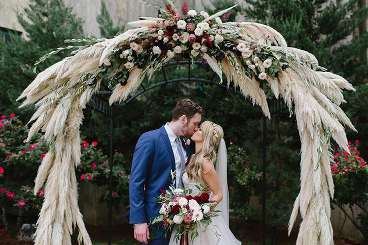 Pampas-grass-arch-at-a-Sunday-brunch-wedding-14338