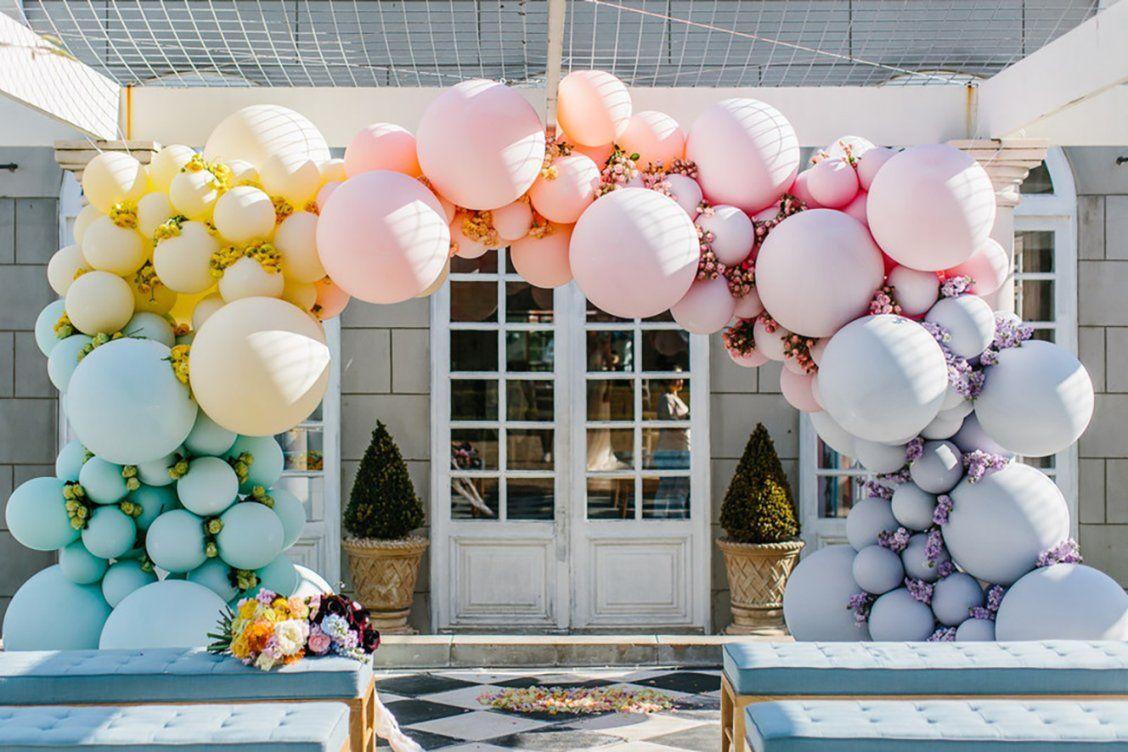 Pastel-balloon-arch-wedding-idea-79252