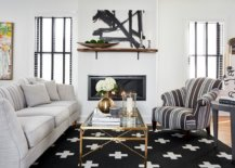 Rug-in-black-along-with-striped-club-chair-add-contrast-to-the-white-living-room-51343-217x155