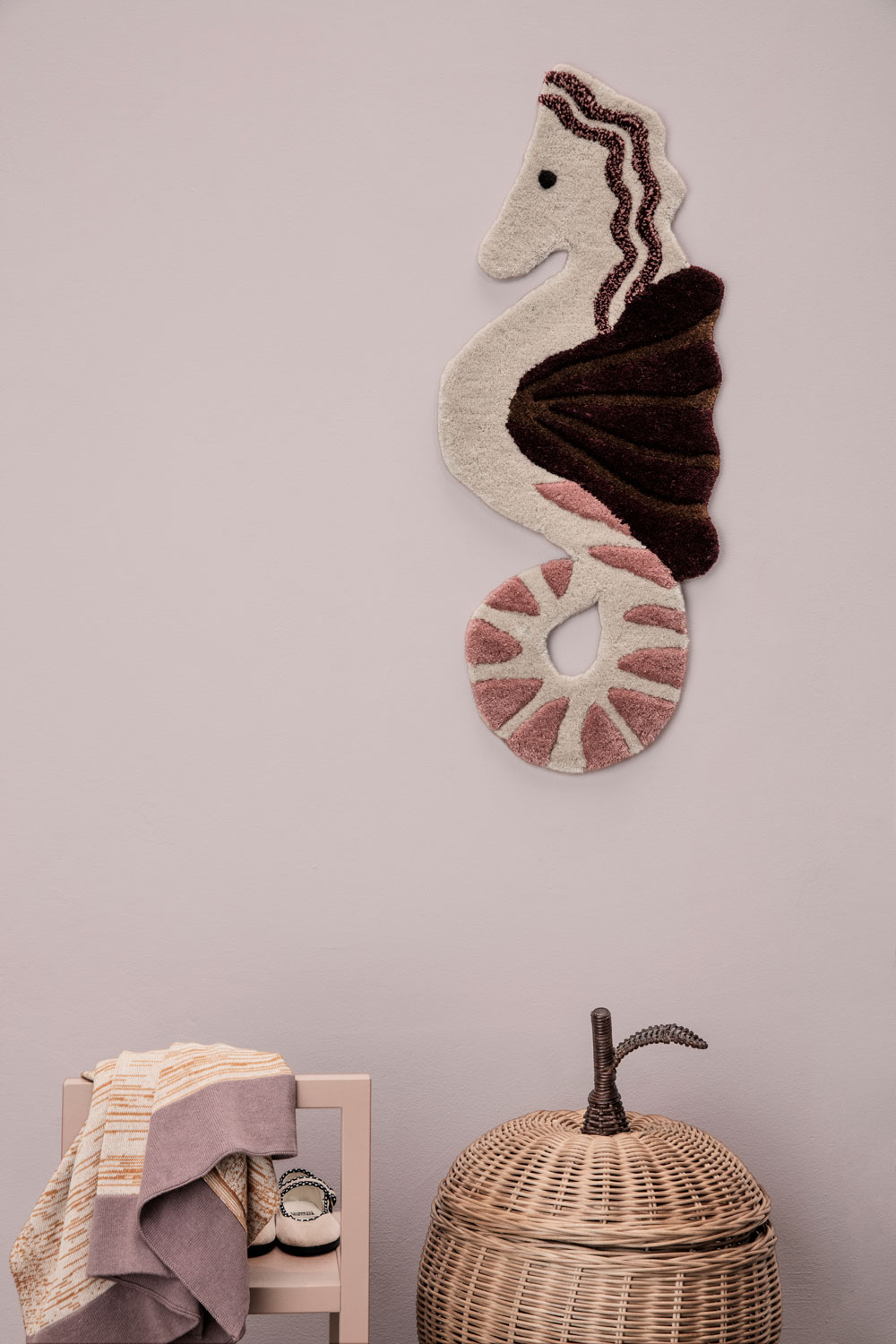Seahorse wall decor from ferm LIVING