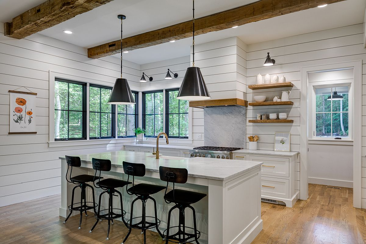 Best Kitchens With Ceiling Beams Ideas Photos And Inspirations,Spring Painting Ideas