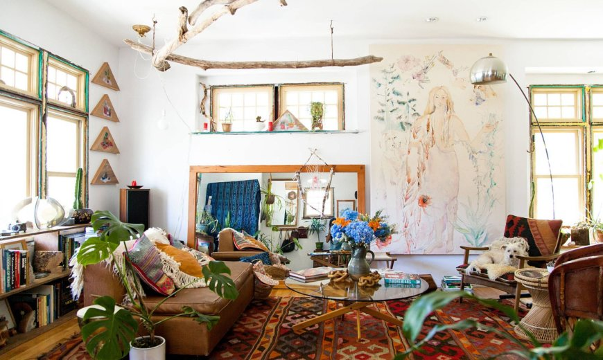 25 Awesome Boho Chic Living Rooms: Delve into Bohemian Charm with Modern Frills