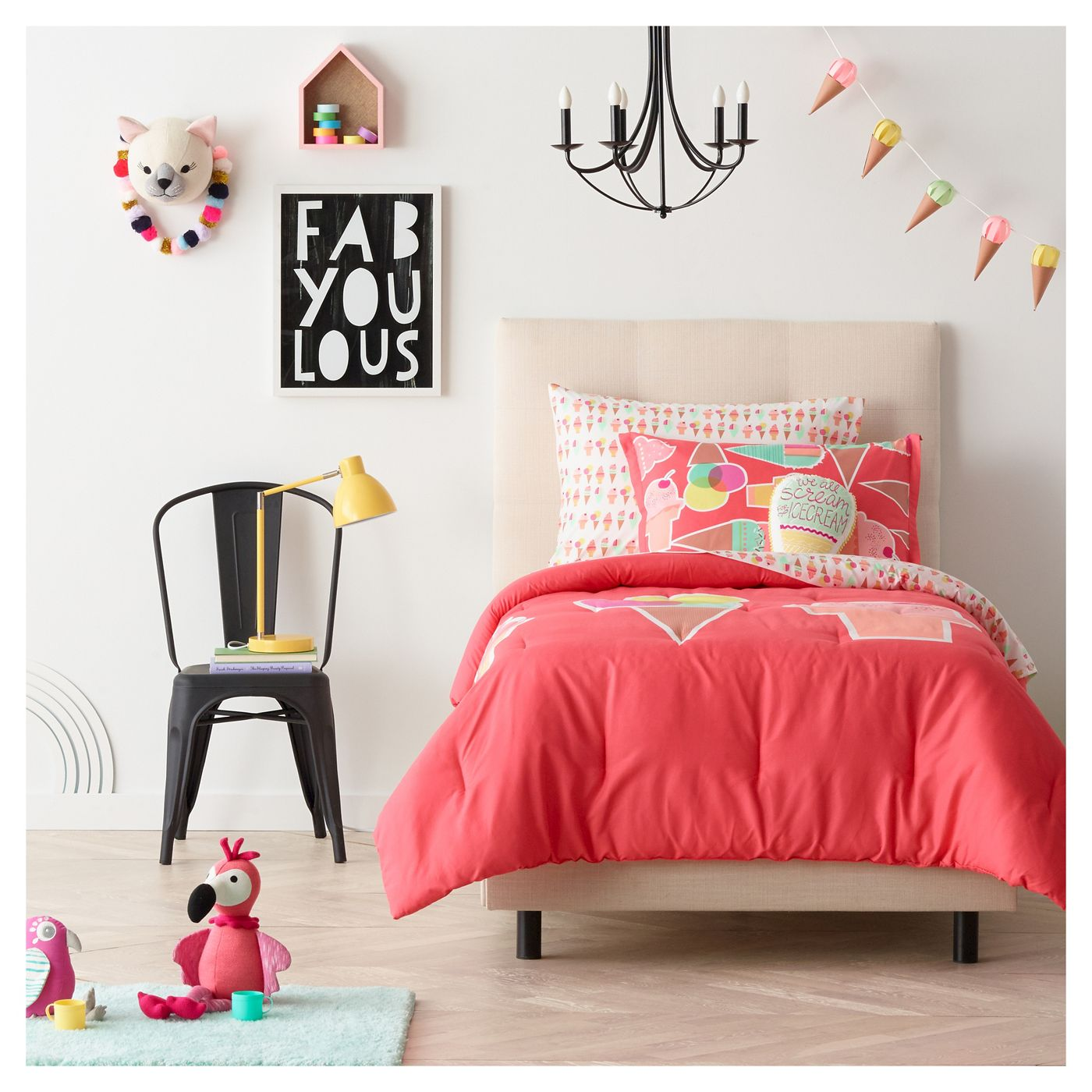 Trendy kid's room from Target