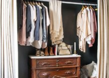 Turn-the-bedroom-niche-into-a-beautiful-closet-with-curtains-a-hanging-rod-and-a-traditional-dresser-13134-217x155
