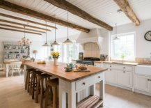 White-ceiling-of-the-kitchen-allows-the-beams-to-stand-out-more-visually-37712-217x155