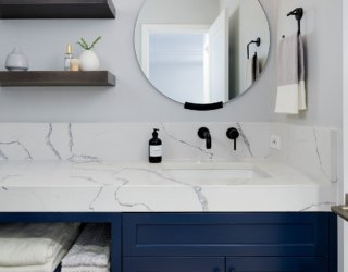 Embracing Color of the Year: 20 Lovely Bathroom Vanities in Blue