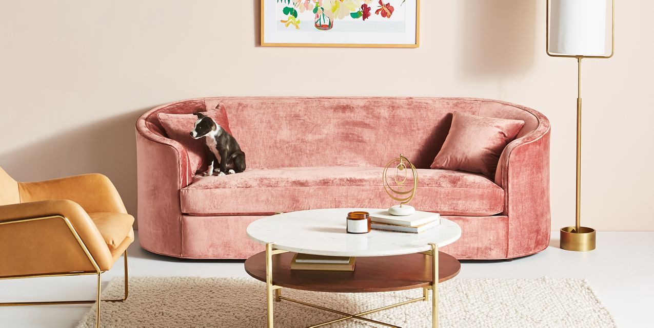 An array of warm tones from Anthropologie