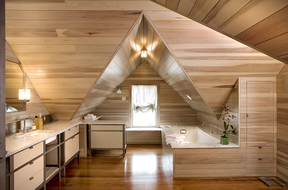 Awesome-contemporary-attic-bathroom-that-is-entirely-draped-in-wood-75803