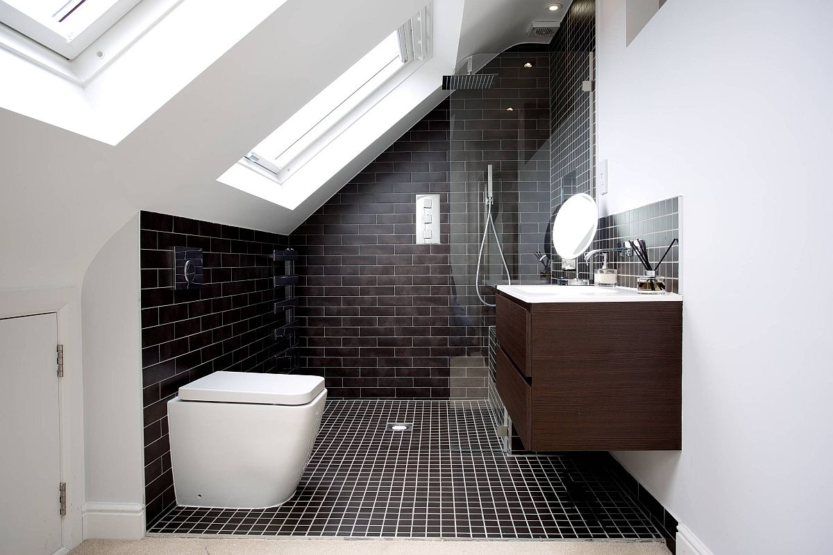 Black-tiles-help-you-move-away-from-the-common-white-bathroom-look-inside-the-attic-83411