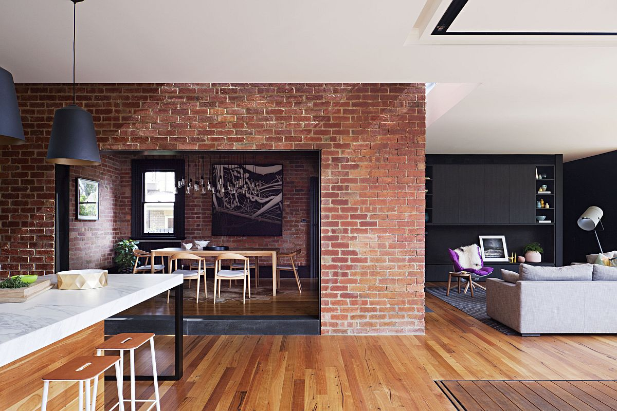 Brick-wall-sections-coupled-with-wooden-flooring-inside-the-heritage-Aussie-home-43074