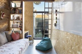 World of Textural Charm: Single-Family Home Extension of Aging Spanish Home