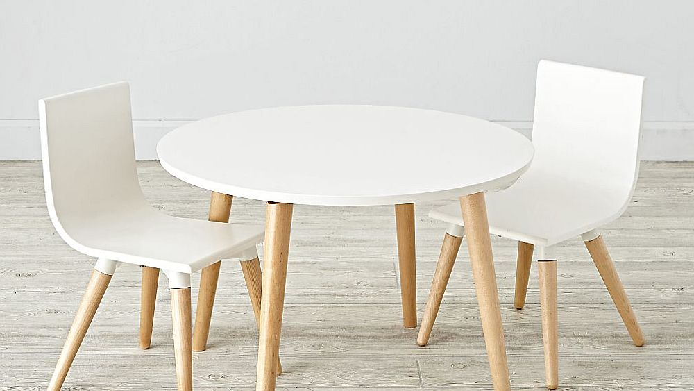 Crate-Barrel's-Pint-Sized-Toddler-White-Table-and-Chair-Set-designed-by-Royce-Nelson-for-the-small-playroom-25218