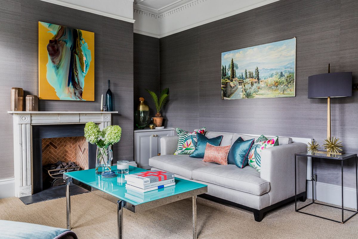 Create your own mix of colors and pattern with beautiful accent pillows