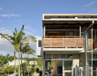 Affordable Modern Homes Provide Live/Work Units with Smart Industrial Design