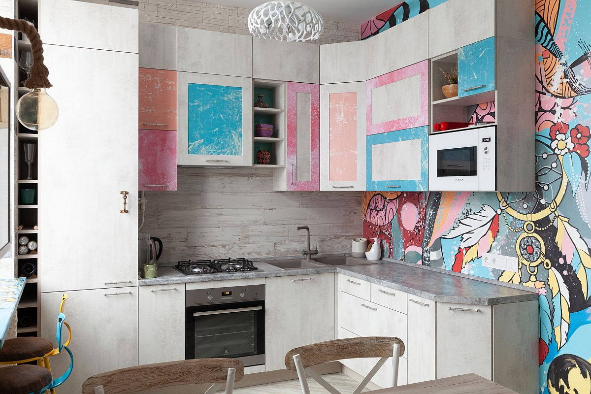 Eclectic-kitchen-of-small-Moscow-apartment-is-drenched-in-color-and-pattern-43899