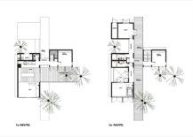 Floor-plan-of-the-modern-Walkway-House-in-Brazil-27552-217x155