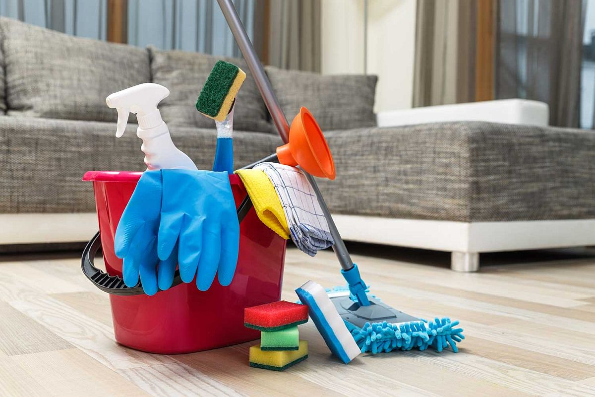 Getting ready to clean your home in the time of a global pandemic
