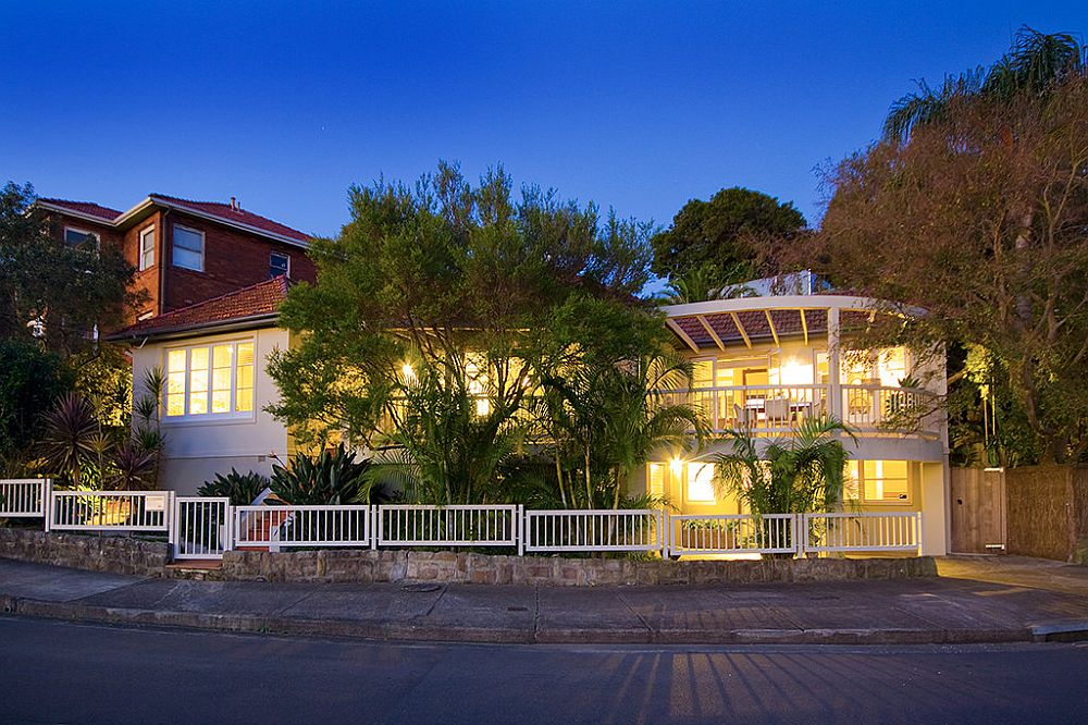 Gorgeous and classic street facade of Ballantine Family Home in Cremorne, Sydney
