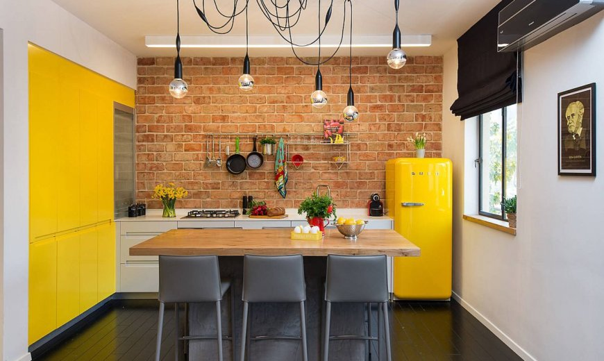 25 Small Eclectic Kitchens Full of Color and Personality