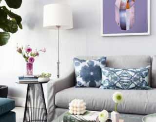 Beautiful Brooklyn Condo Drenched Delightful Pops of Color