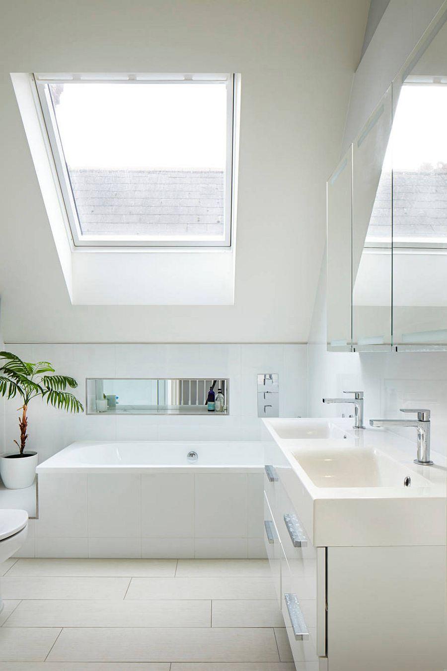 Monochromatic-all-white-bathroom-in-the-attic-with-white-all-around-68935