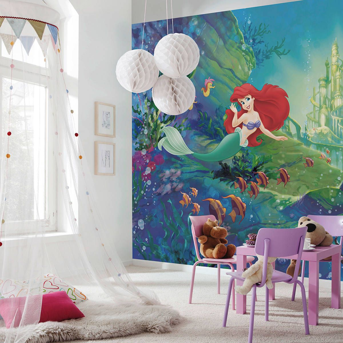 Perfect-little-playroom-for-your-little-princess-with-the-Little-Mermaid-mural-in-the-backdrop-47082