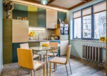 Shades-of-green-and-yellow-coupled-with-wood-inside-the-small-eclectic-kitchen-88258-217x155