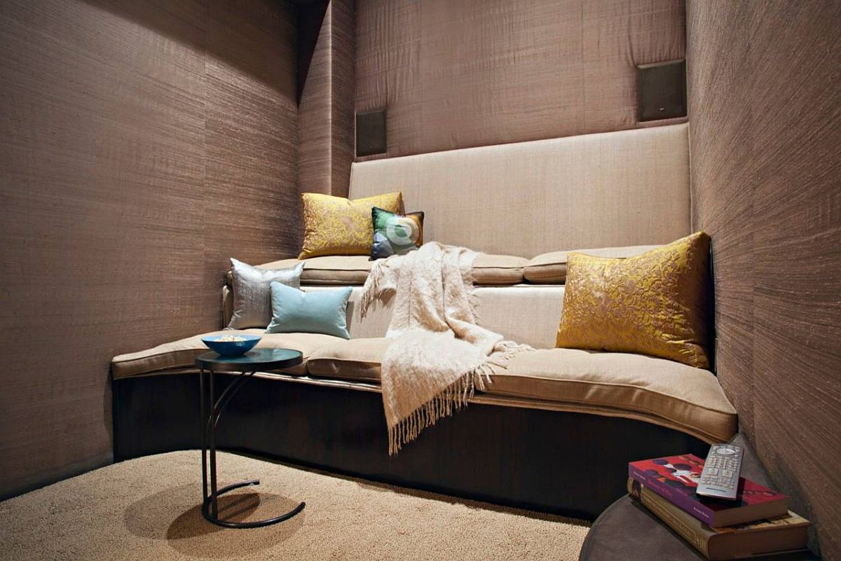 Stay Entertained 20 Lovely Small Home Theaters And Media Rooms
