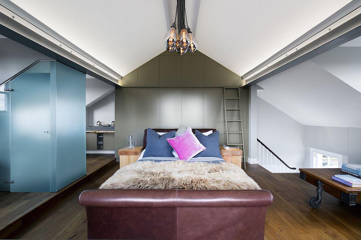 Luxurious Loft Master Suite Amazes with Brilliant Blend of Textures