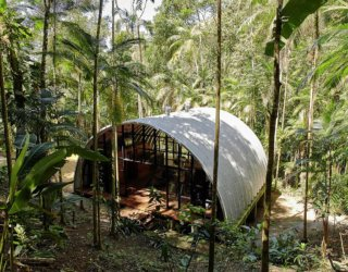 Ingenious Modular Home in Brazilian Atlantic Forest Embraces Green Living