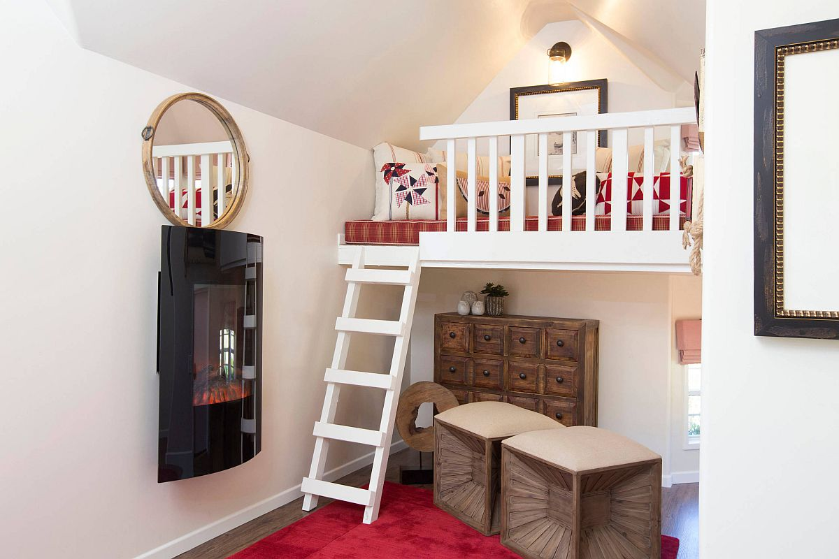 Tiny-playhouse-design-with-a-loft-area-and-a-tiny-ladder-33888