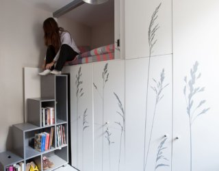 Super-Tiny Apartment Just 8 Sqm in Size Wows with Creative Multi-functional Wall