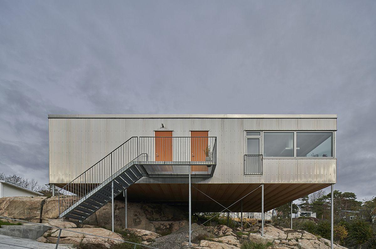 Unique and creative design of Villa Ellsinger designed by Ellsinger Arkibad in Gothenburg
