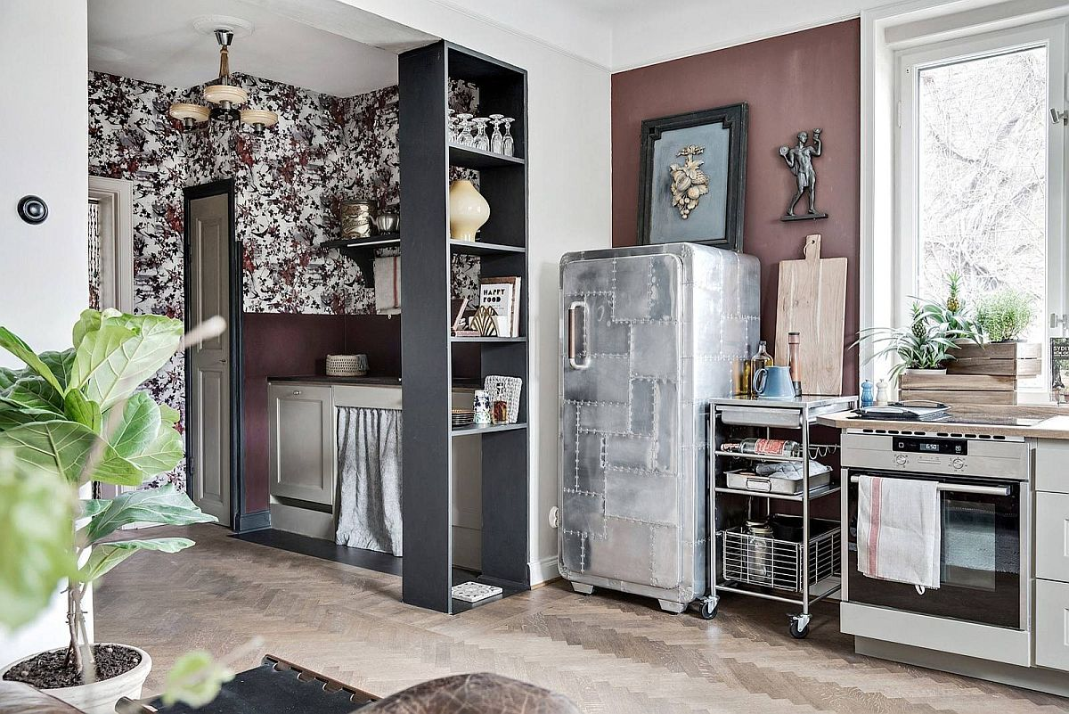 Vintage-look-combined-with-modernity-and-eclectic-blend-of-colors-inside-the-small-kitchen-10905