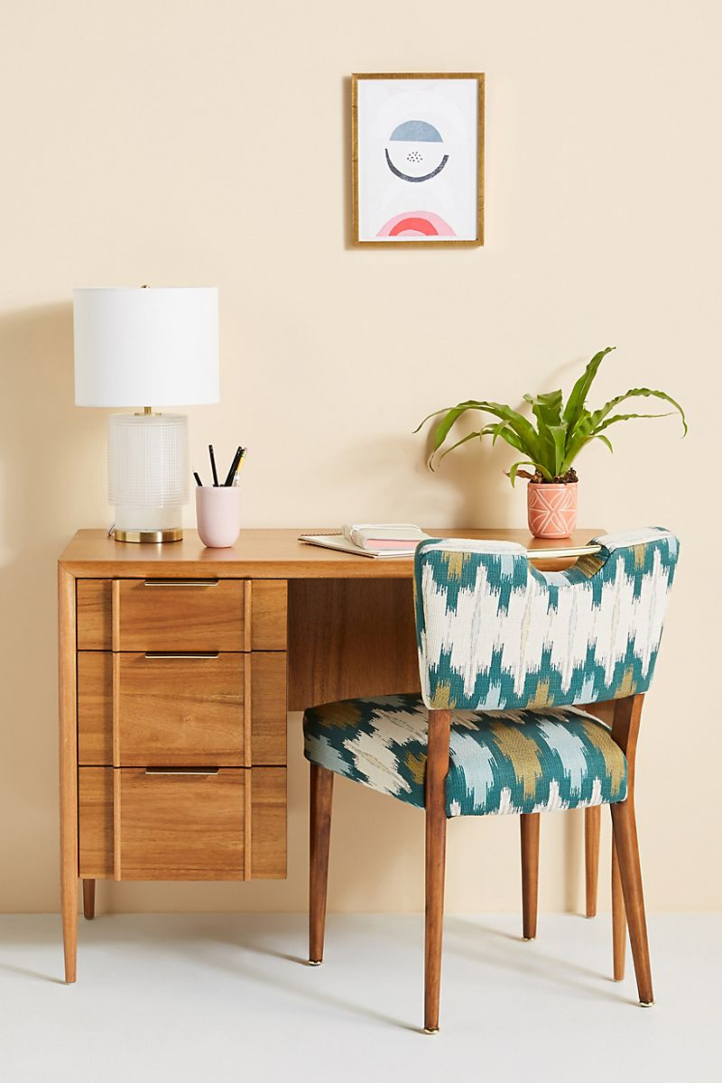 Wooden desk from Anthropologie