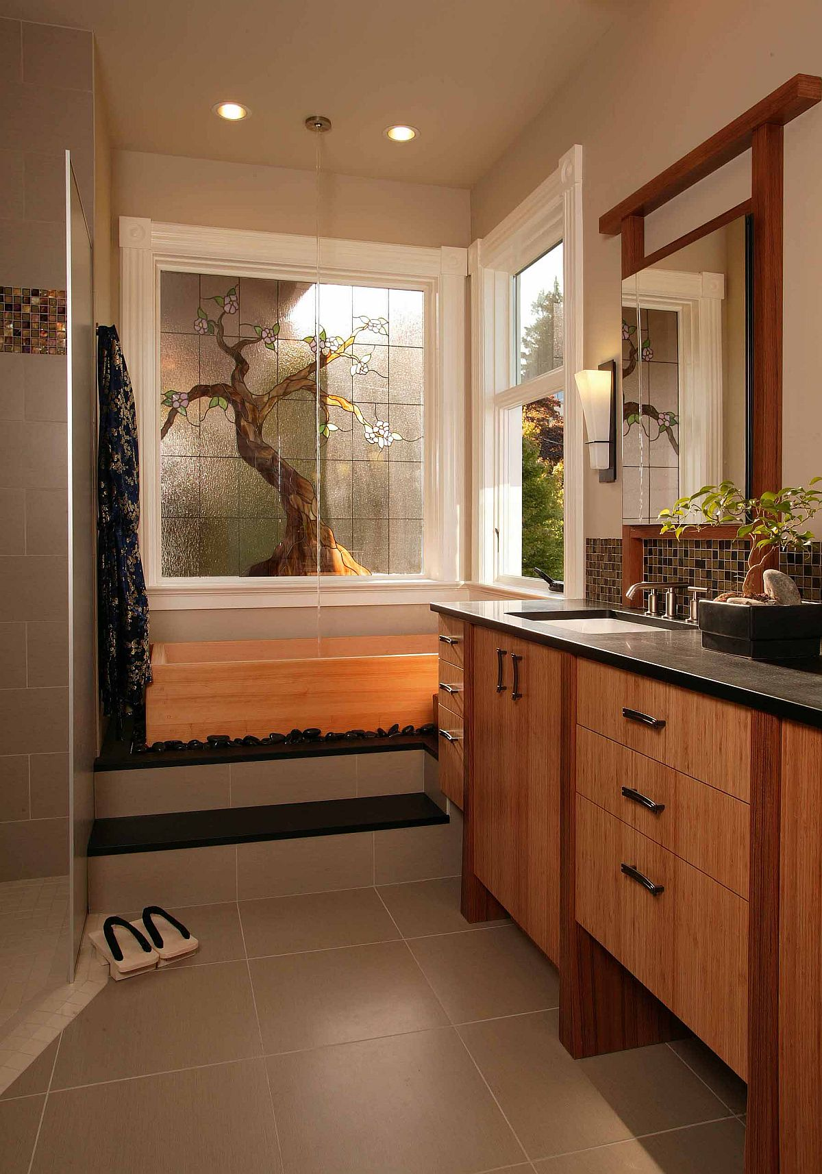 Beautiful-tree-in-stained-glass-adds-visual-brilliance-to-this-modern-Asian-style-bathroom-39840