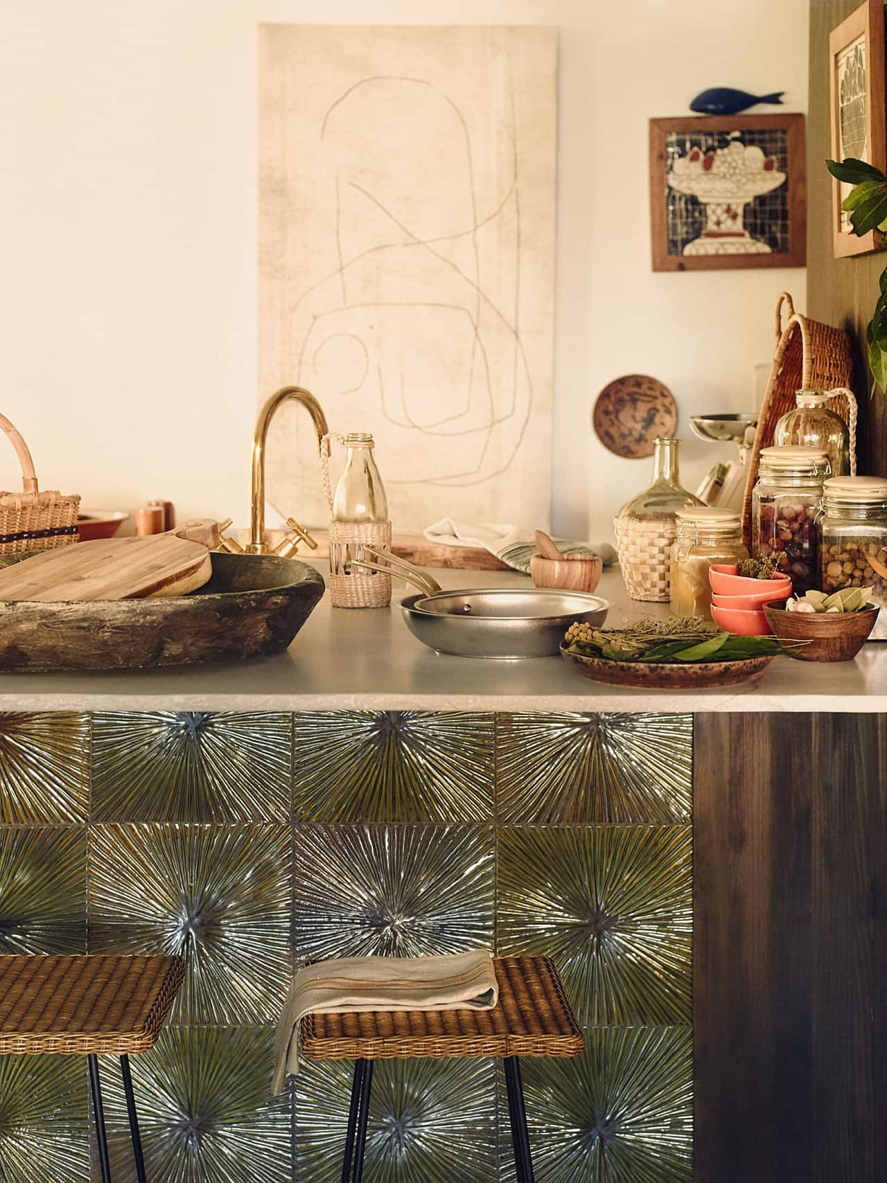 Beautifully styled kitchen from Zara Home