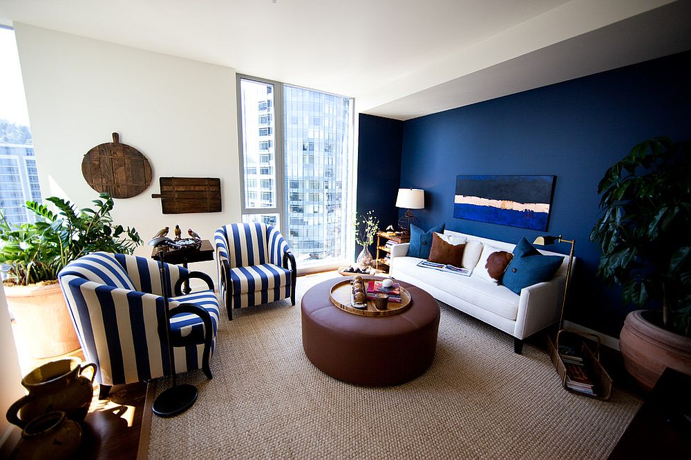 Blue-and-white-striped-accent-chair-is-a-popular-choice-that-cuts-across-styles-39390