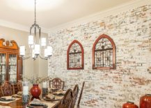 Farmhouse-style-dining-room-with-lovely-whitewashed-brick-wall-classic-decor-and-antique-pieces-48907-217x155
