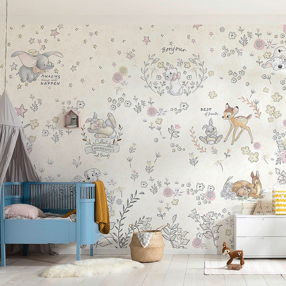 Finding the right wallpaper for the small contemporary nursery